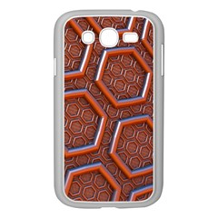 3d Abstract Patterns Hexagons Honeycomb Samsung Galaxy Grand Duos I9082 Case (white)