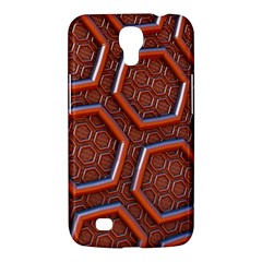3d Abstract Patterns Hexagons Honeycomb Samsung Galaxy Mega 6 3  I9200 Hardshell Case