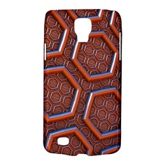 3d Abstract Patterns Hexagons Honeycomb Galaxy S4 Active