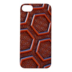 3d Abstract Patterns Hexagons Honeycomb Apple iPhone 5S/ SE Hardshell Case