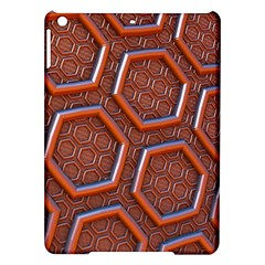 3d Abstract Patterns Hexagons Honeycomb iPad Air Hardshell Cases
