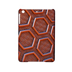 3d Abstract Patterns Hexagons Honeycomb Ipad Mini 2 Hardshell Cases