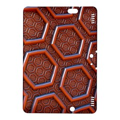 3d Abstract Patterns Hexagons Honeycomb Kindle Fire Hdx 8 9  Hardshell Case