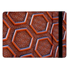 3d Abstract Patterns Hexagons Honeycomb Samsung Galaxy Tab Pro 12.2  Flip Case