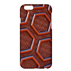 3d Abstract Patterns Hexagons Honeycomb Apple Iphone 6 Plus/6s Plus Hardshell Case