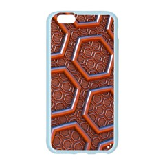 3d Abstract Patterns Hexagons Honeycomb Apple Seamless iPhone 6/6S Case (Color)