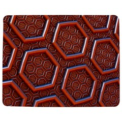 3d Abstract Patterns Hexagons Honeycomb Jigsaw Puzzle Photo Stand (Rectangular)