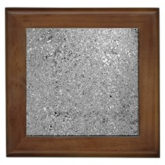 Abstract Flowing And Moving Liquid Metal Framed Tiles