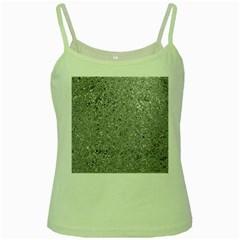 Abstract Flowing And Moving Liquid Metal Green Spaghetti Tank