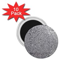 Abstract Flowing And Moving Liquid Metal 1 75  Magnets (10 Pack)