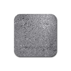 Abstract Flowing And Moving Liquid Metal Rubber Square Coaster (4 Pack)