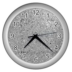 Abstract Flowing And Moving Liquid Metal Wall Clocks (Silver)