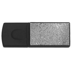 Abstract Flowing And Moving Liquid Metal USB Flash Drive Rectangular (1 GB)