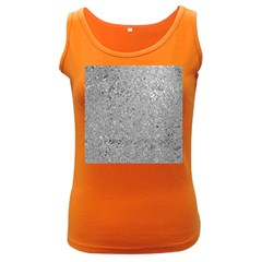 Abstract Flowing And Moving Liquid Metal Women s Dark Tank Top