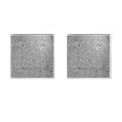 Abstract Flowing And Moving Liquid Metal Cufflinks (square)