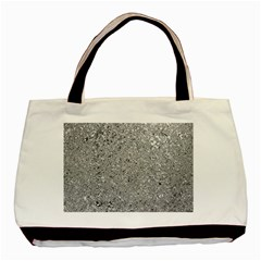 Abstract Flowing And Moving Liquid Metal Basic Tote Bag (two Sides)