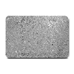 Abstract Flowing And Moving Liquid Metal Small Doormat