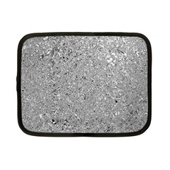 Abstract Flowing And Moving Liquid Metal Netbook Case (Small)