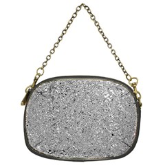 Abstract Flowing And Moving Liquid Metal Chain Purses (one Side)