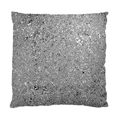 Abstract Flowing And Moving Liquid Metal Standard Cushion Case (one Side)