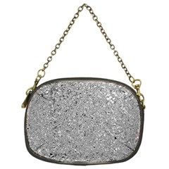 Abstract Flowing And Moving Liquid Metal Chain Purses (Two Sides)