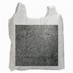 Abstract Flowing And Moving Liquid Metal Recycle Bag (two Side)
