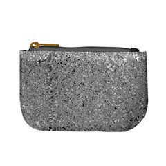 Abstract Flowing And Moving Liquid Metal Mini Coin Purses