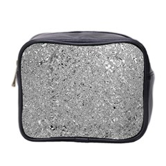 Abstract Flowing And Moving Liquid Metal Mini Toiletries Bag 2 Side