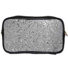 Abstract Flowing And Moving Liquid Metal Toiletries Bags