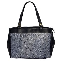 Abstract Flowing And Moving Liquid Metal Office Handbags