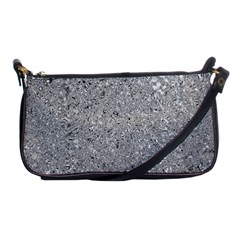 Abstract Flowing And Moving Liquid Metal Shoulder Clutch Bags