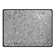 Abstract Flowing And Moving Liquid Metal Fleece Blanket (small)
