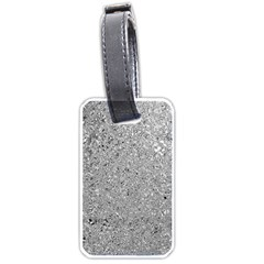 Abstract Flowing And Moving Liquid Metal Luggage Tags (Two Sides)