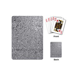 Abstract Flowing And Moving Liquid Metal Playing Cards (mini)