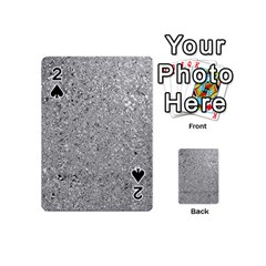 Abstract Flowing And Moving Liquid Metal Playing Cards 54 (mini)