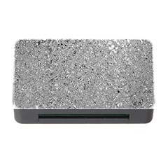 Abstract Flowing And Moving Liquid Metal Memory Card Reader with CF
