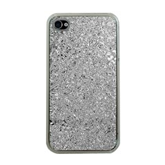 Abstract Flowing And Moving Liquid Metal Apple Iphone 4 Case (clear)