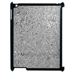 Abstract Flowing And Moving Liquid Metal Apple Ipad 2 Case (black)