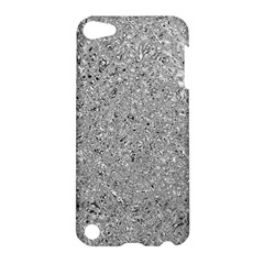 Abstract Flowing And Moving Liquid Metal Apple Ipod Touch 5 Hardshell Case