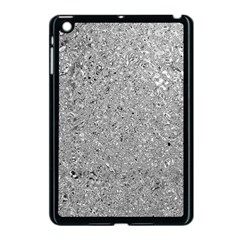 Abstract Flowing And Moving Liquid Metal Apple Ipad Mini Case (black)