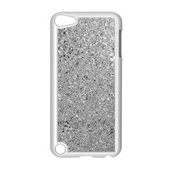 Abstract Flowing And Moving Liquid Metal Apple iPod Touch 5 Case (White)