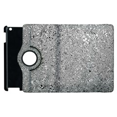 Abstract Flowing And Moving Liquid Metal Apple Ipad 3/4 Flip 360 Case