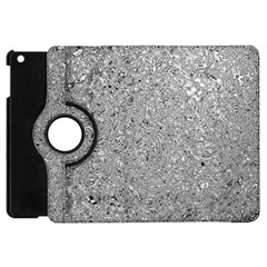Abstract Flowing And Moving Liquid Metal Apple Ipad Mini Flip 360 Case