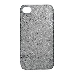 Abstract Flowing And Moving Liquid Metal Apple Iphone 4/4s Hardshell Case With Stand