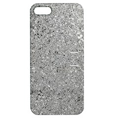 Abstract Flowing And Moving Liquid Metal Apple Iphone 5 Hardshell Case With Stand
