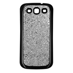 Abstract Flowing And Moving Liquid Metal Samsung Galaxy S3 Back Case (black)