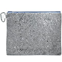 Abstract Flowing And Moving Liquid Metal Canvas Cosmetic Bag (XXXL)