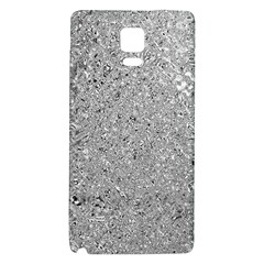 Abstract Flowing And Moving Liquid Metal Galaxy Note 4 Back Case
