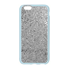 Abstract Flowing And Moving Liquid Metal Apple Seamless iPhone 6/6S Case (Color)