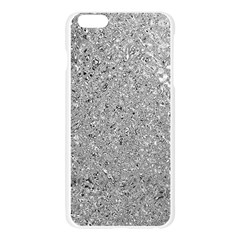 Abstract Flowing And Moving Liquid Metal Apple Seamless iPhone 6 Plus/6S Plus Case (Transparent)